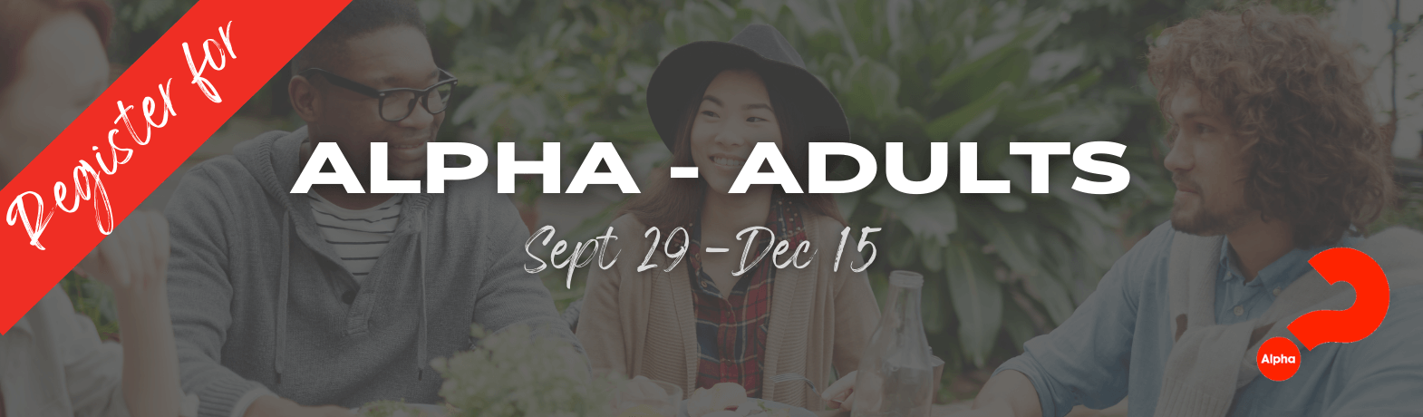 Alpha Course 2021 - Adults